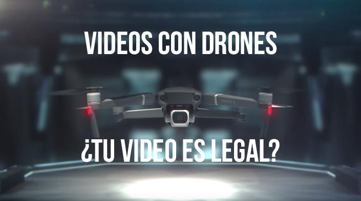 video legal dron